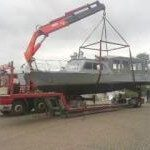 Pilotboat Oostduitsland Polizeiboot Zollboot politieboot