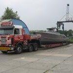 Transport Brandaris Q50 Mast Jachtschilders.