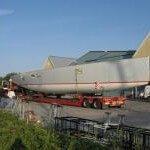 Baugainville 72 ft Transport Drachten – Zaandam.